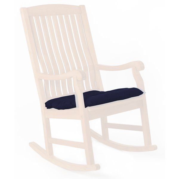 Enjoyable All Things Cedar Rocker Chair Cushion Tc22 B Rona Evergreenethics Interior Chair Design Evergreenethicsorg