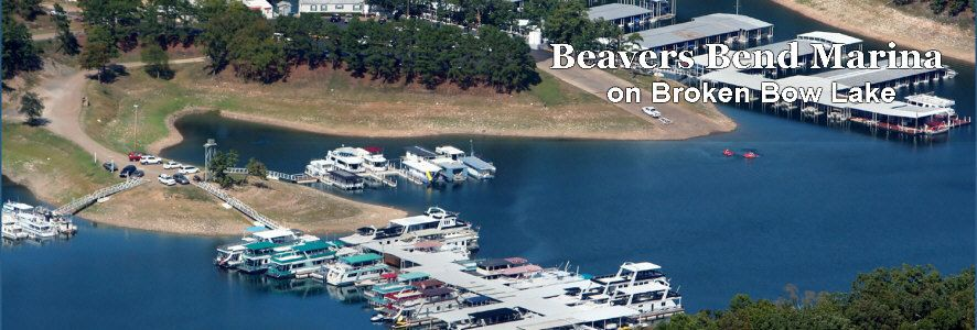 Beavers bend marina on broken bow lake oklahoma picture