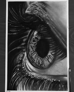 لوحات بالاقلام الفحم والرصاص للرسامة العراقية زهراء عبد الجبار مدونة رسم بالرصاص Joker Drawings Abstract Artwork Artwork