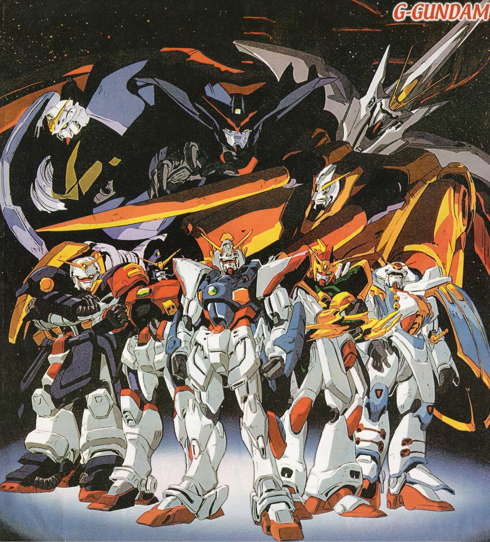 G Gundam World S Greatest Anime Gundam Mobile Fighter G Gundam Gundam Art
