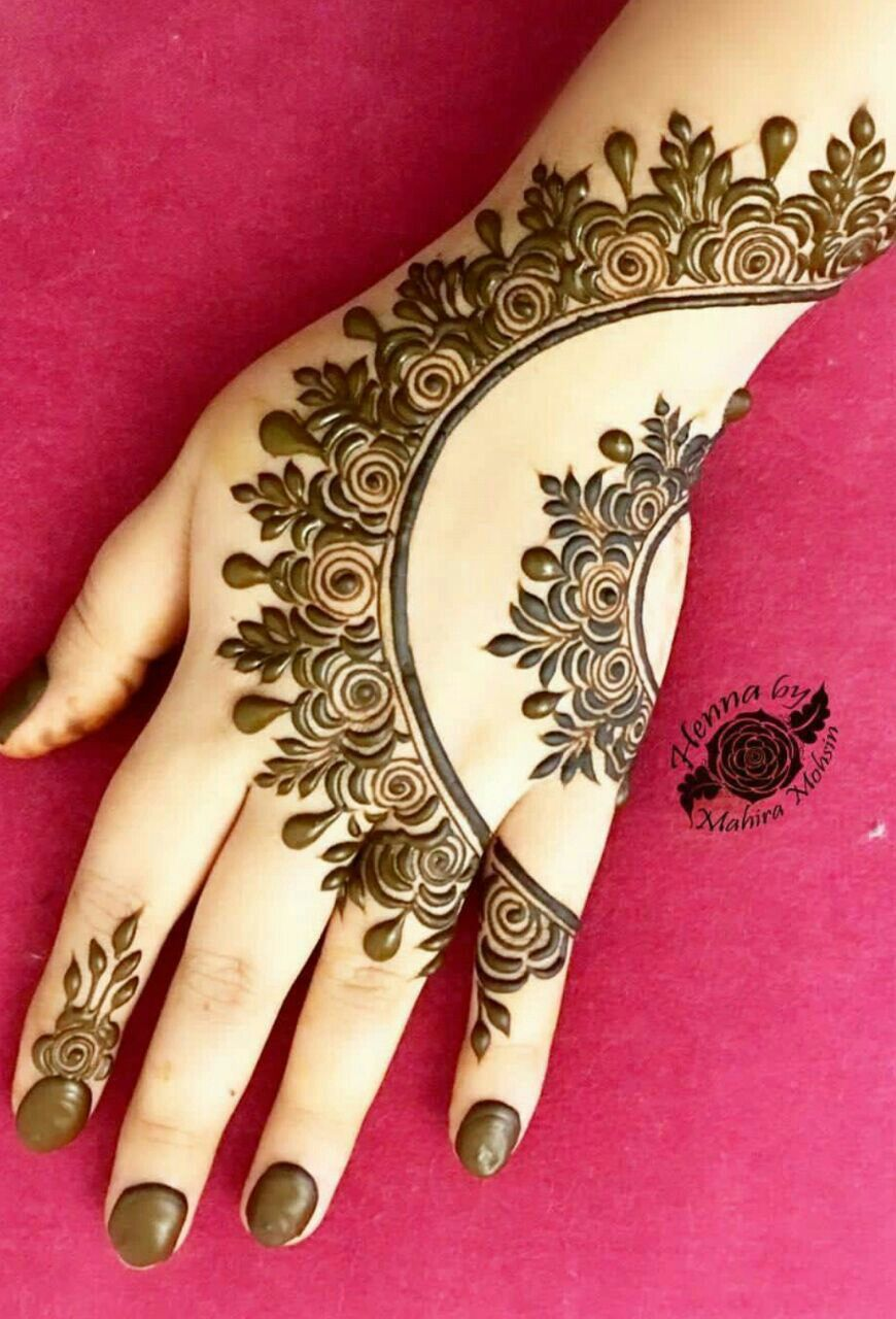 Lovely Henna Designs That Are Easy To Repeat: Henna Tattoo Designs, Mehndi