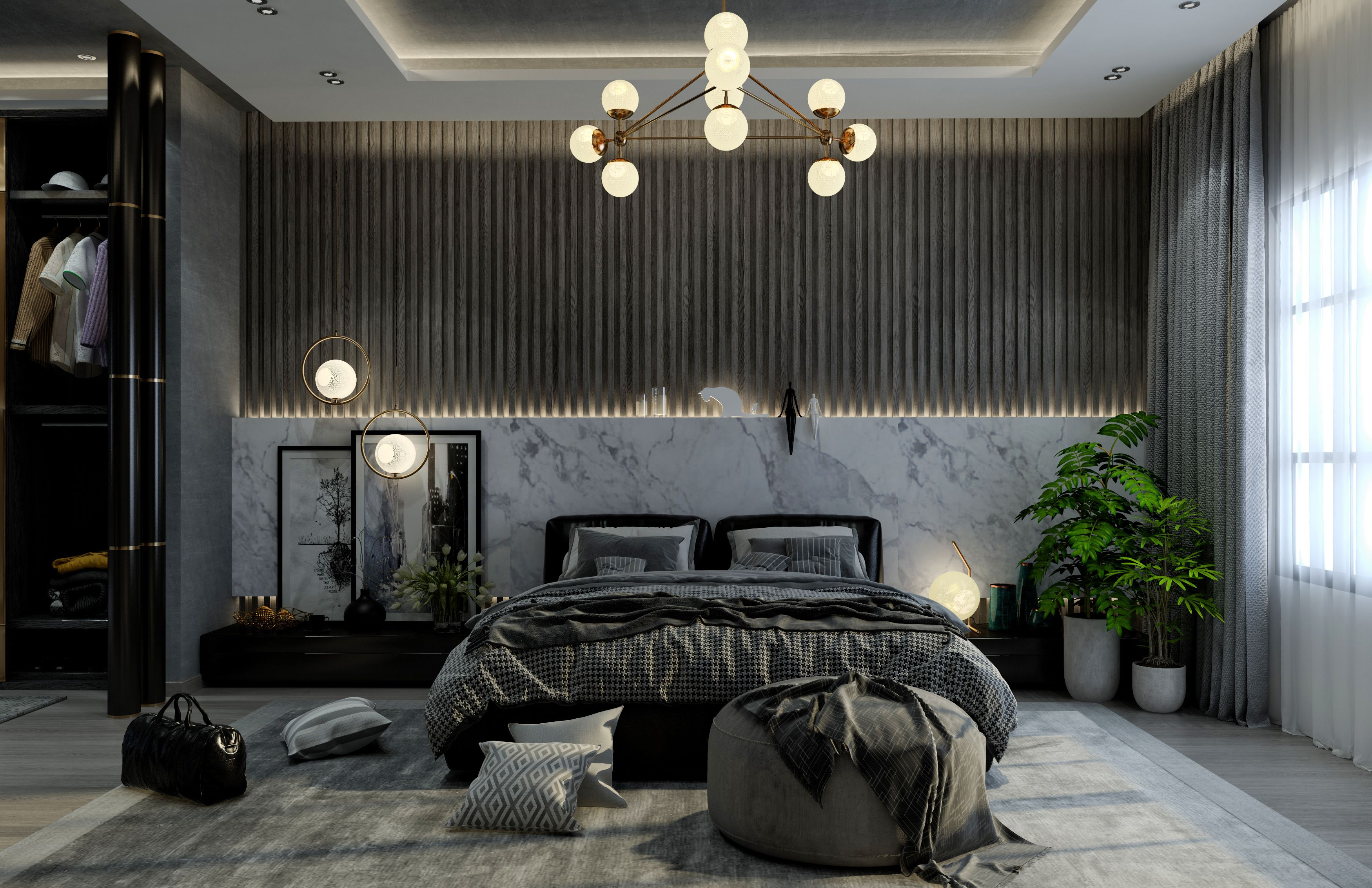 Check Out This Behance Project Allegria Master Bedroom Https Www Behance Net G Luxury Bedroom Master Master Bedroom Interior Luxury Master Bedroom Design