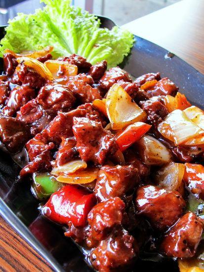 Resep Sapi Lada Hitam Dan Cara Membuat Bacaresepdulu Com Resep Daging Sapi Resep Masakan Masakan