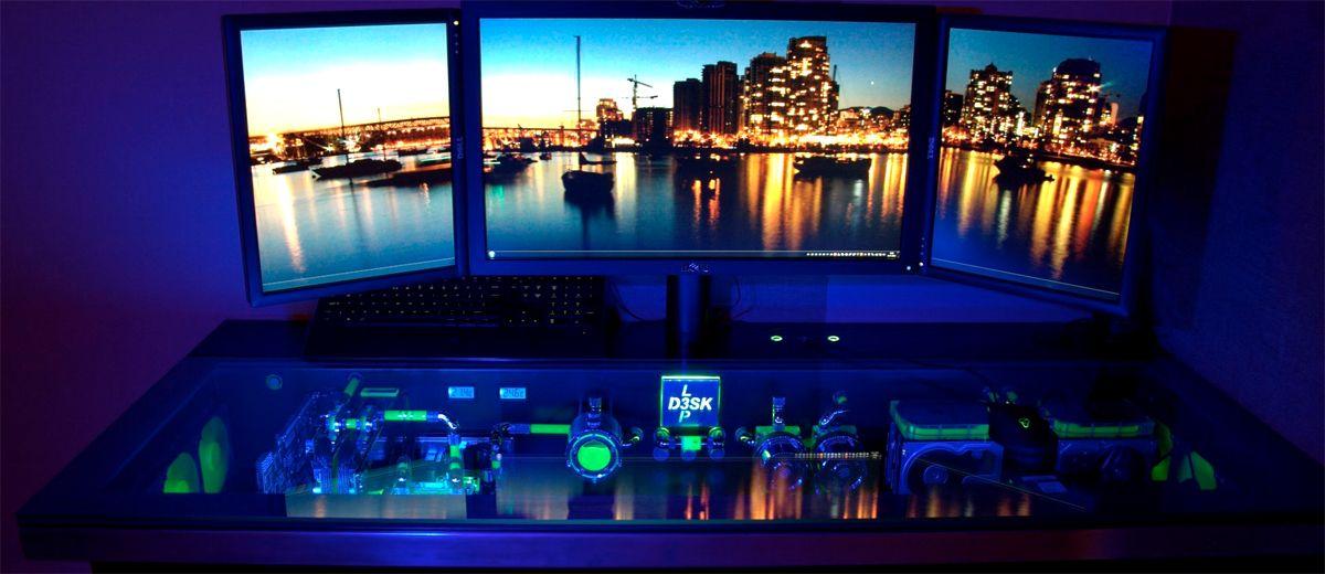 Pc gamer schreibtisch  Gaming-Paradies: 17 Ideen für Gaming Schreibtisch | Gaming ...