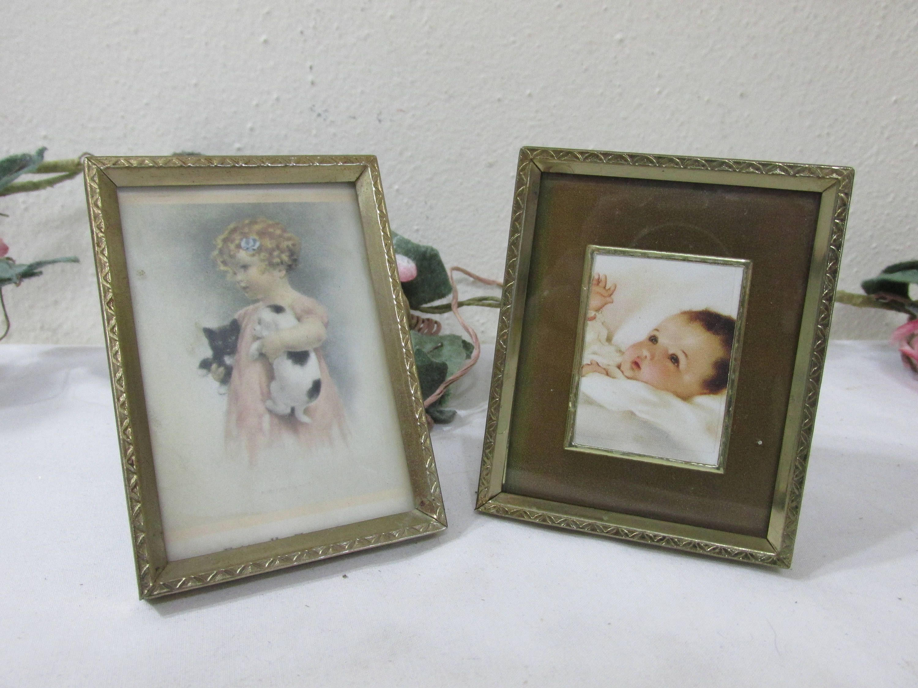 Picture frames wallet size photos 2 12 x 3 12 vintage metal picture frames wallet size photos 2 12 x 3 12 jeuxipadfo Image collections