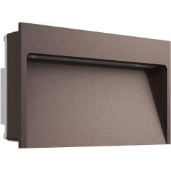 Photo of Flos My Way 110×200 recessed wall light, dark brown, 2700K FlosFlos