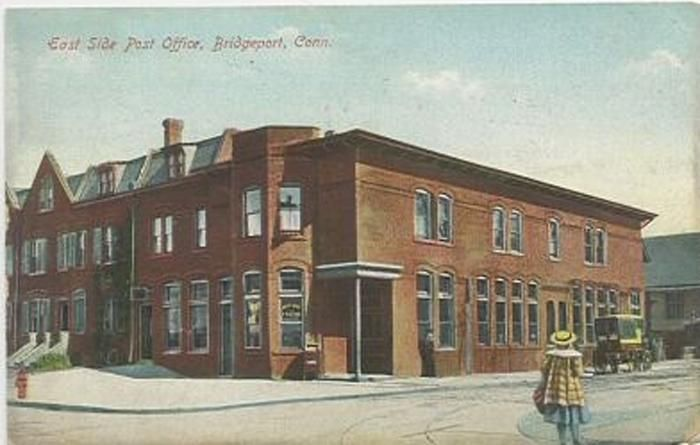 Central High School East Side Post Office Connecticut History East Side Old Postcards