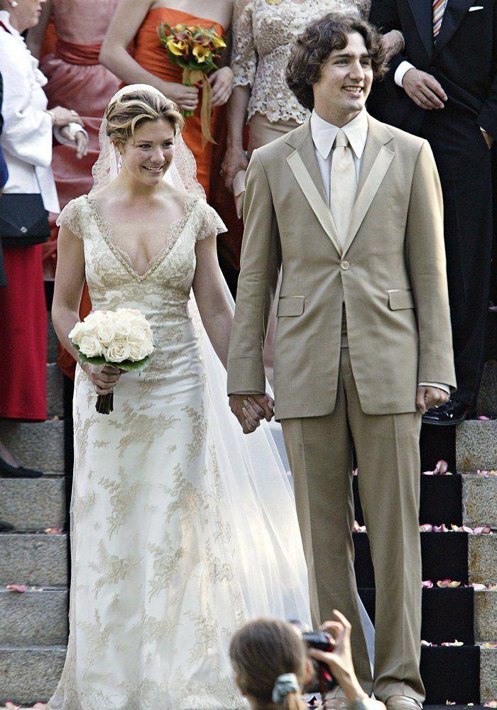 Sophie Grgoire-Trudeau Shoulder To Shoulder With Justin -6197