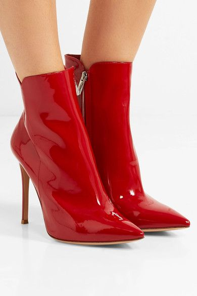 Gianvito Rossi classic ankle boots - Rosso