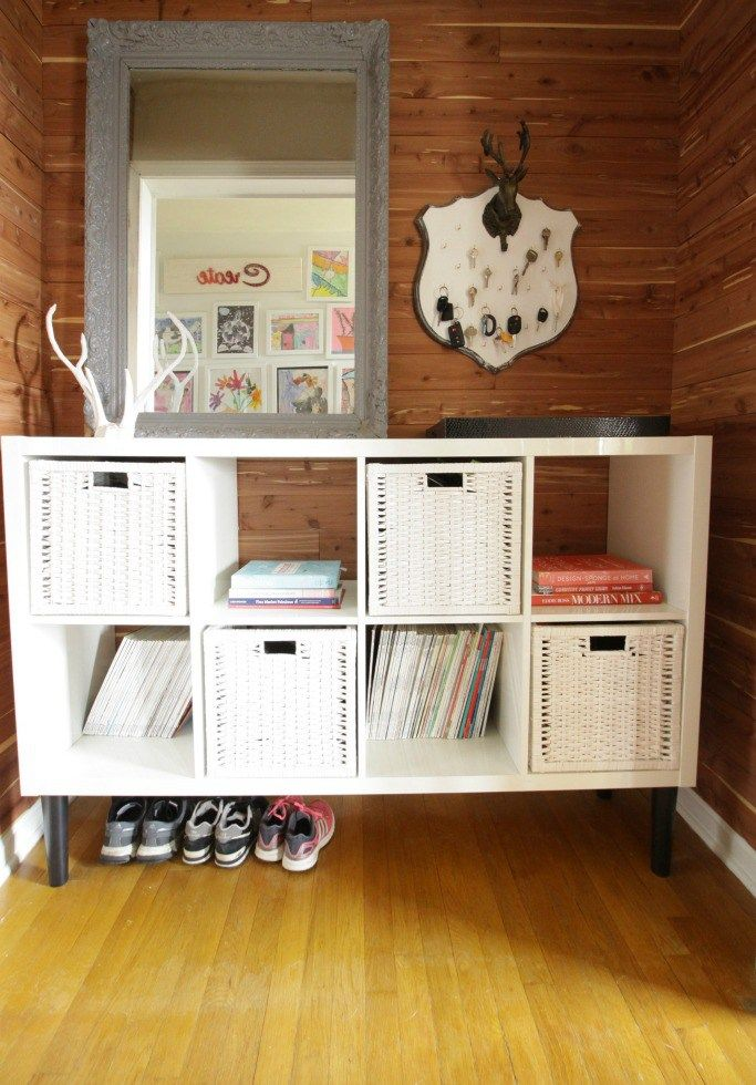 Adding Legs To An Ikea Kallax With Pretty Pegs Farmhouse Style - Add color to your room prettypegs replace your ikea legs