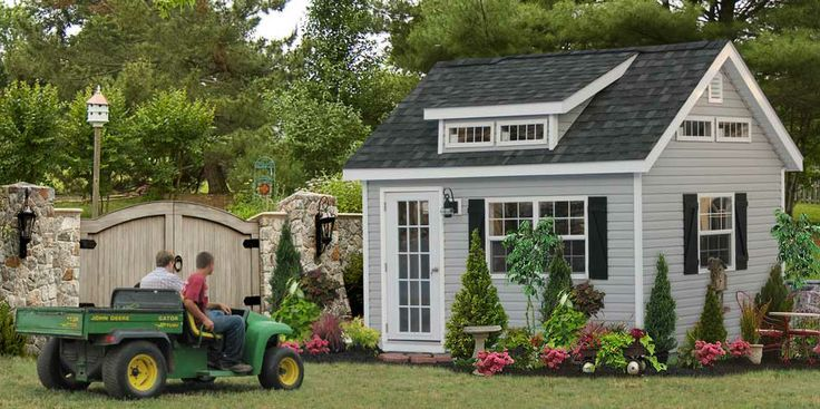 Get This Custom Home Office Shed Built For Your Backyard To Use As Home  Office Or Backyard Studio. Our Home Office Sheds Are Great To Get Away And  Work From ...