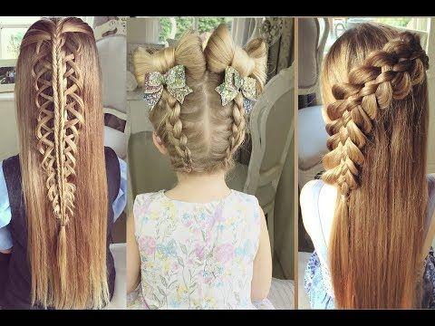 Youtube Peinados Para Ninas Peinados Para Chicas Peinados