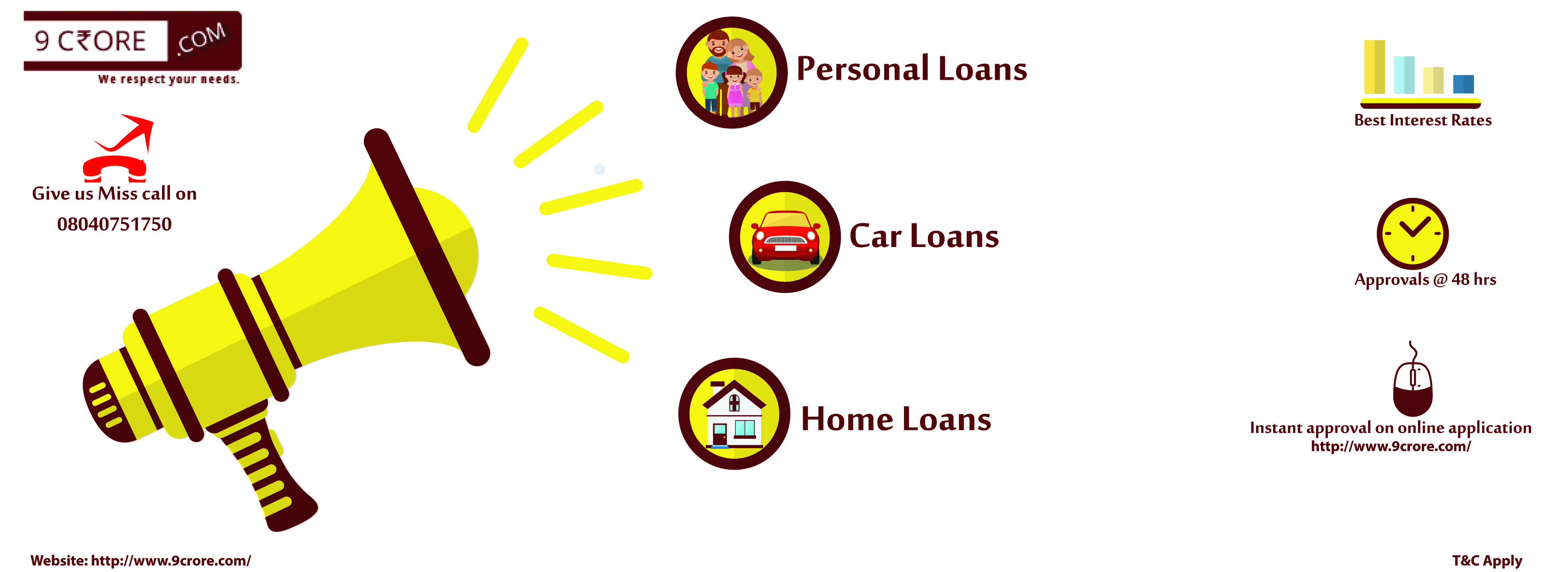 9crore Com Is Very Excited To Announce About Financial Product And Services Offering In Bangalore With Lowest Interest Rate Personal Loans Car Loans Home Loans