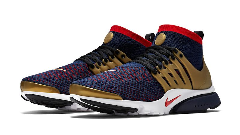 low priced 3bac1 6816b nike air presto ultra flyknit black gold
