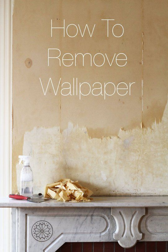 Use This Tutorial To Remove Old Wallpaper And Prepare Your Walls For Painting Or More