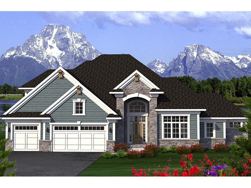 House Plans With Window Walls | Eplans Traditional House Plan Gorgeous Window Wall 2604 Square