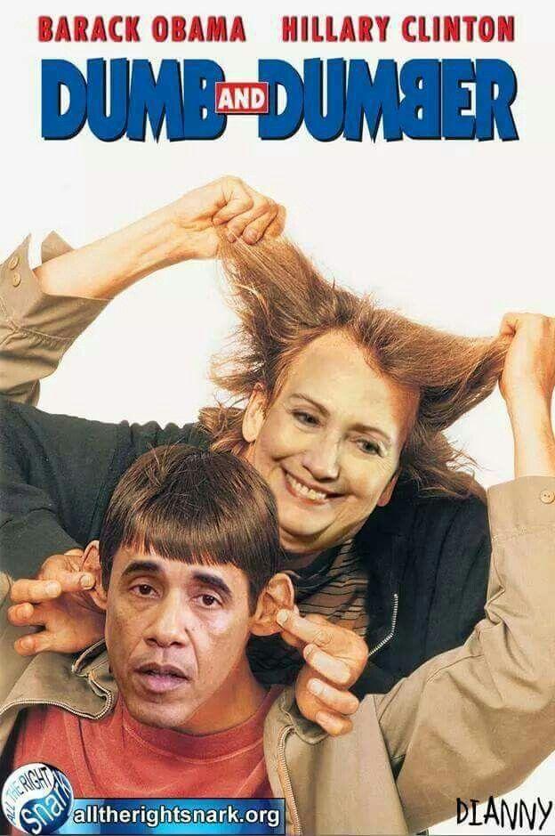 Clinton obama kiss my ass — photo 15