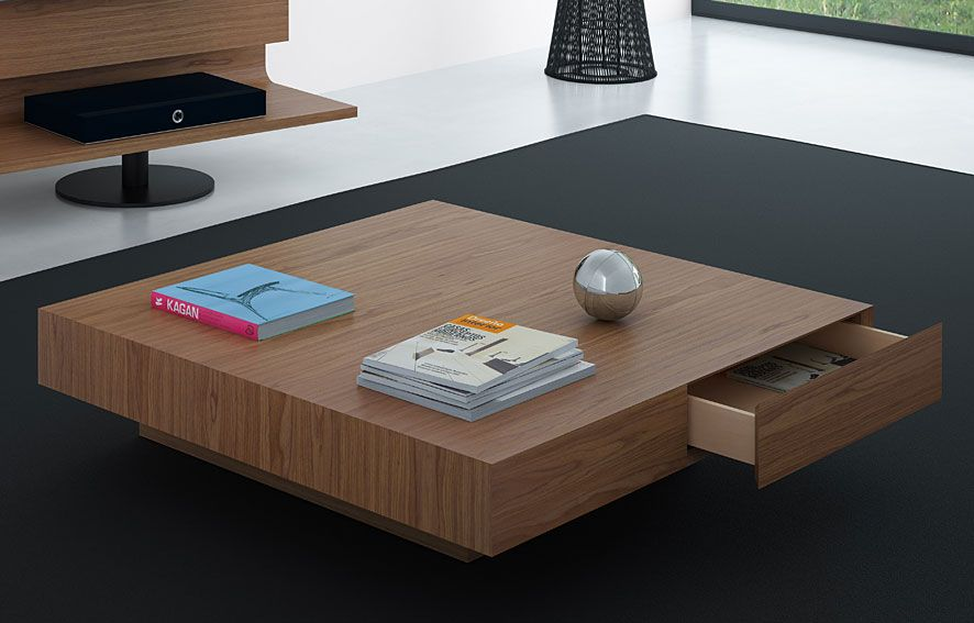 Mesa de centro moderna kioto material madera de roble for Mesas de centro modernas
