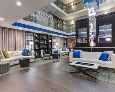 Hampton Inn Atlanta Norcross Hotel Ga Hotel Lobby Hampton