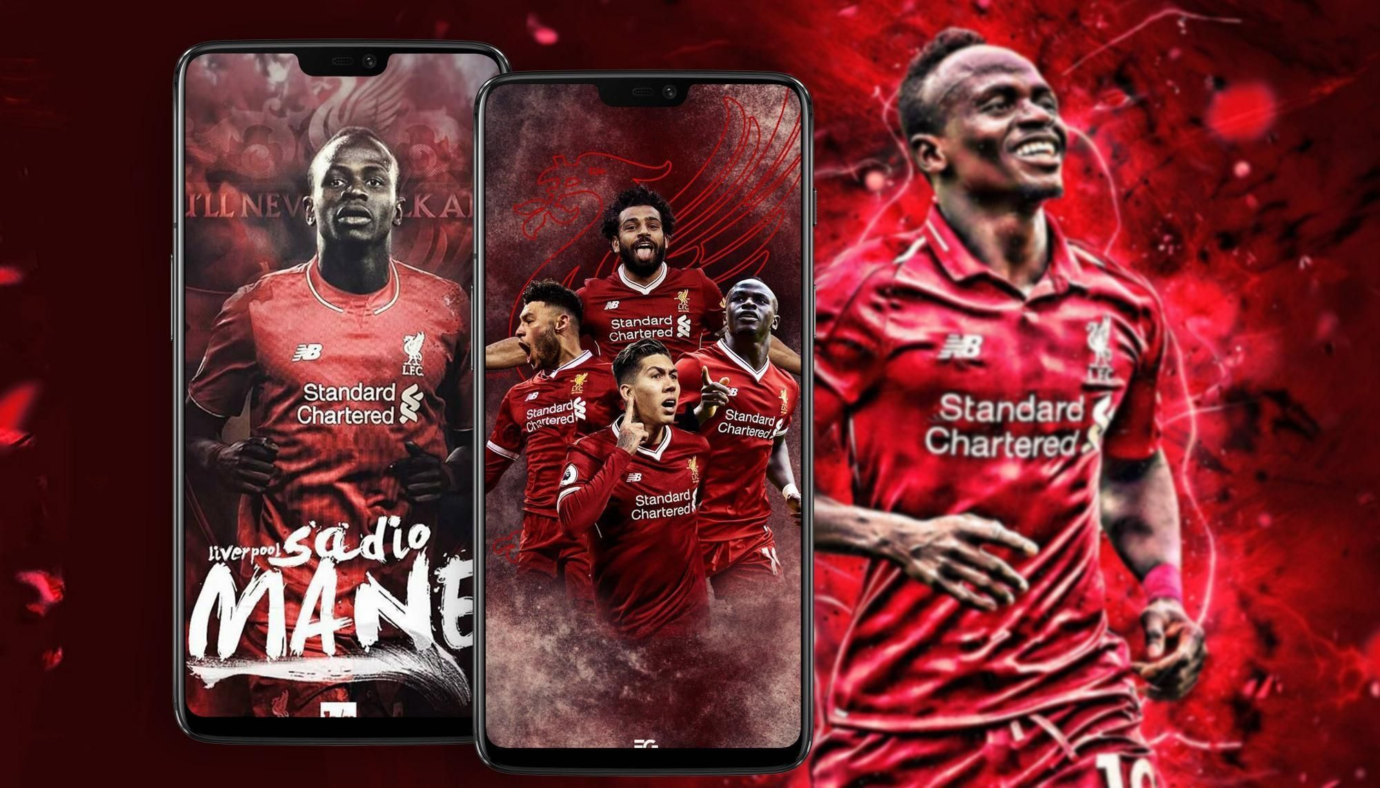 Liverpool Sadio Mane Wallpaper Hd Football In 2020 Liverpool Wallpapers Sadio Mane Lfc Wallpaper