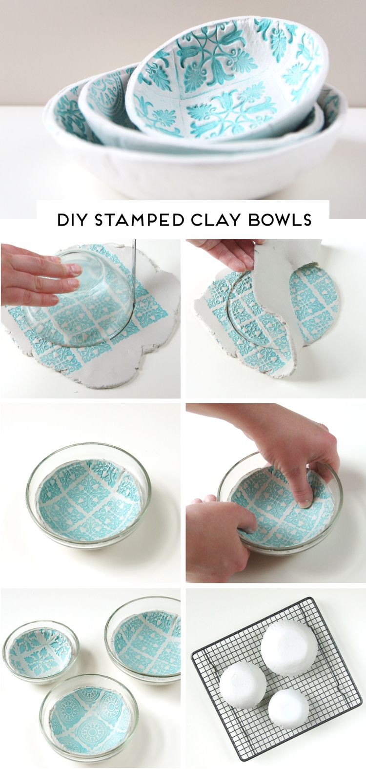 HOW TO MAKE DIY AIR DRY CLAY BOWLS. — Gathering Beauty