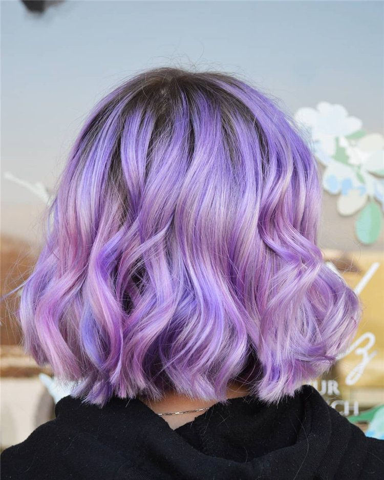 80 Chic Lavender Hairstyles Inspirations In 2020 Flymeso Blog Light Purple Hair Hair Styles Lilac Hair
