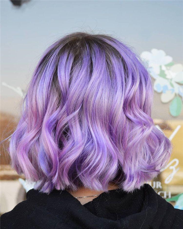 Miss Karen Lilac Hair Hair Styles Lavender Hair