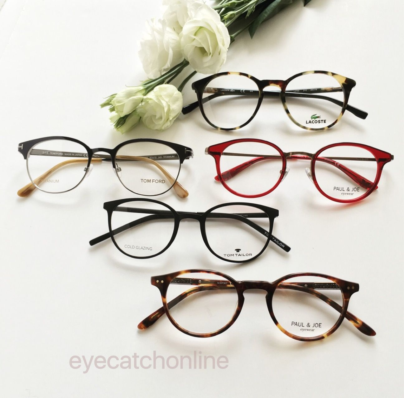 So lovely these frames from Paul & Joe - Lacoste - Tom Tailor and ...