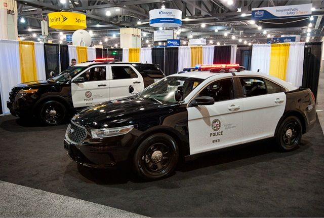 Lapd Unveils Next Gen Ford Police Interceptors Ford Police