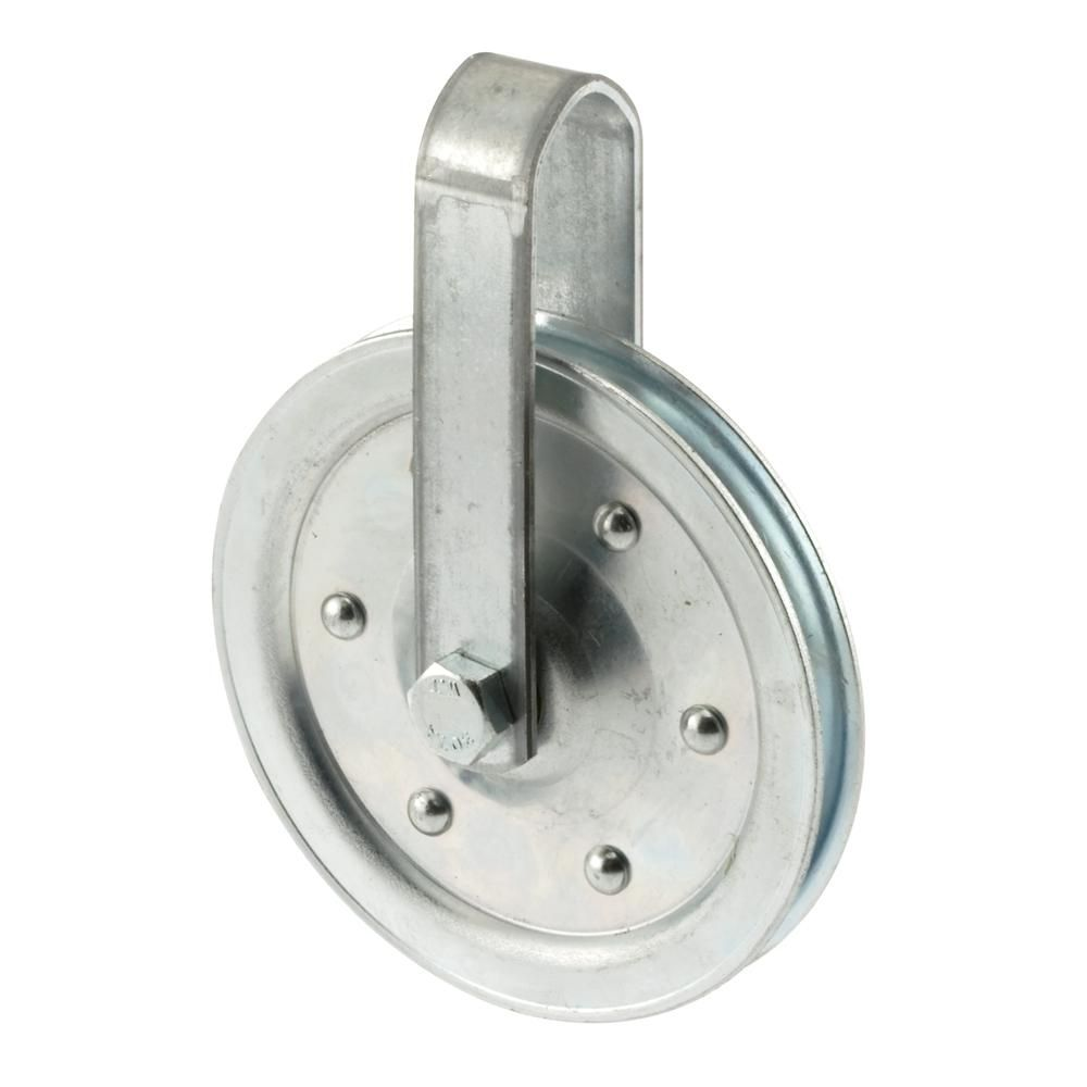 Prime-Line 4 in  Dia Pulley with Strap and Bolt in 2019   Diy barn