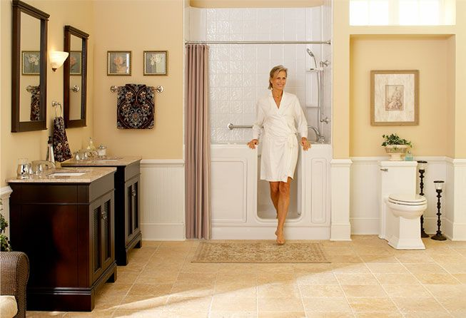 Bath Showers For Seniors Accessible Bathrooms Walk In