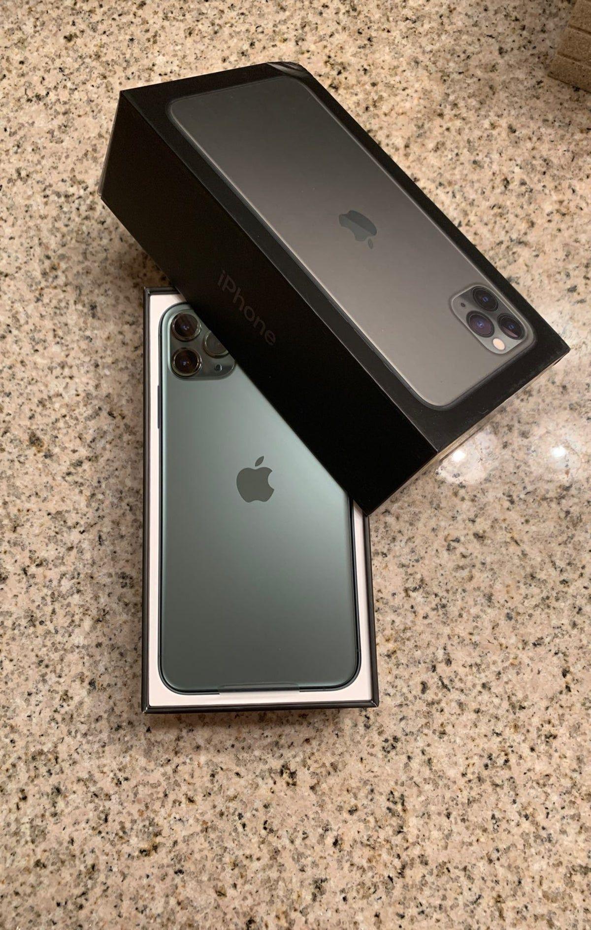Iphone 11 Pro Max Midnight Green 256gb Iphone 11 Pro Max Midnight Green Apple Iphone Accessories Iphone