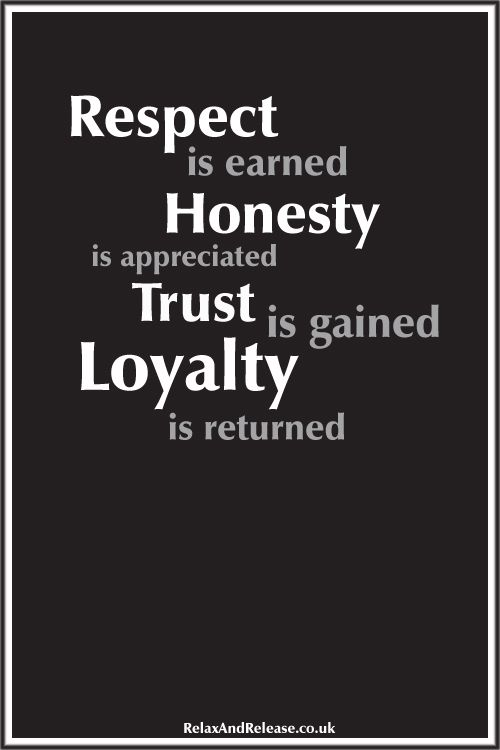 Inspirational Life Quote Respect Honesty Trust Loyalty Loyalty Quotes Inspiring Quotes About Life Life Quotes
