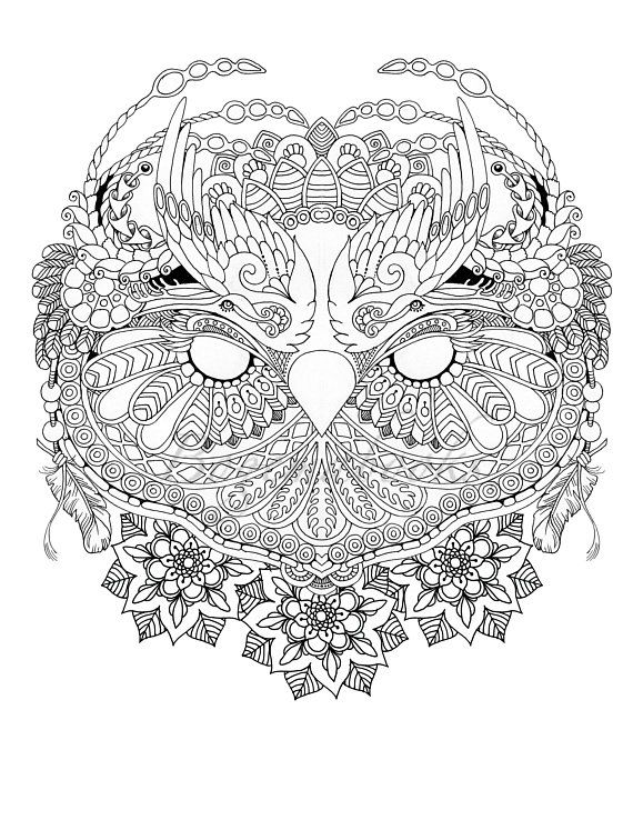 image about Printable Adult Coloring Pages Pdf called Magic Mask Grownup Coloring Guide (Coloring internet pages PDF, Coloring