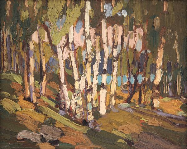 White Birches, Fall by Tom Thomson | Art Posters & Prints