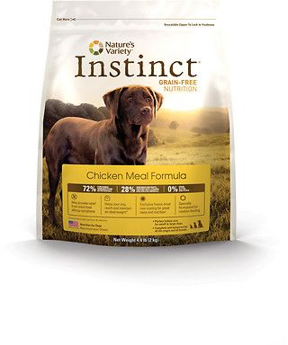 Nature's Variety Instinct Grain-free Nutrition... save $$$ buying online at Mr. Chewy!