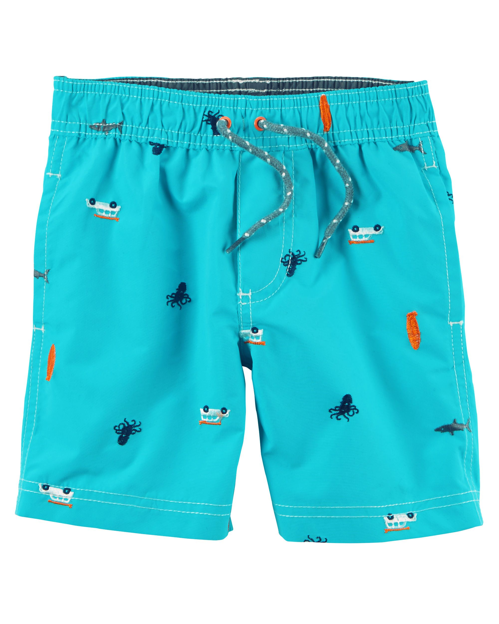 ffc55c8efd Kid Boy Carter's Underwater Swim Trunks from Carters.com. Shop clothing &  accessories from a trusted name in kids, toddlers, and baby clothes.
