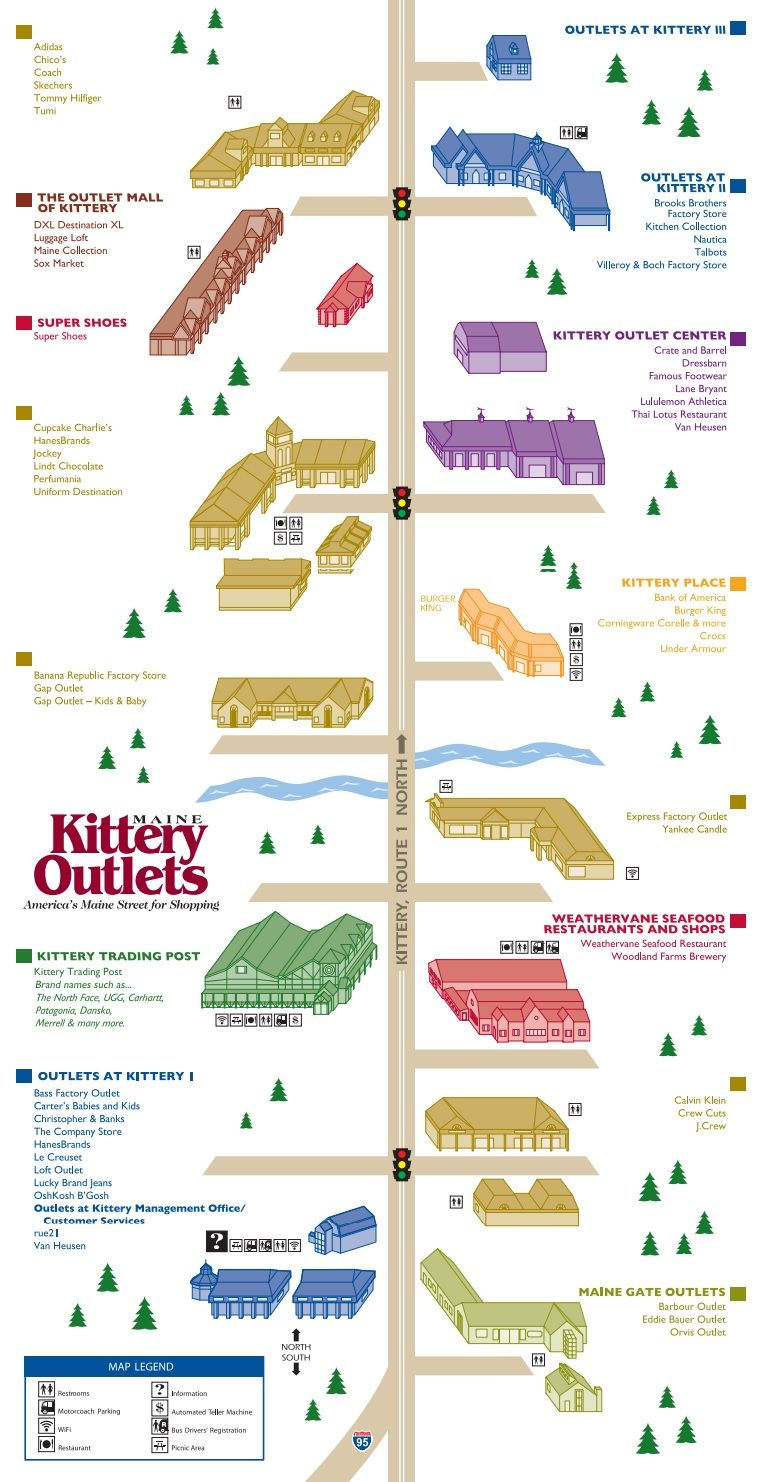 Kittery Outlets Shopping Plan Kittery Kittery Trading Post