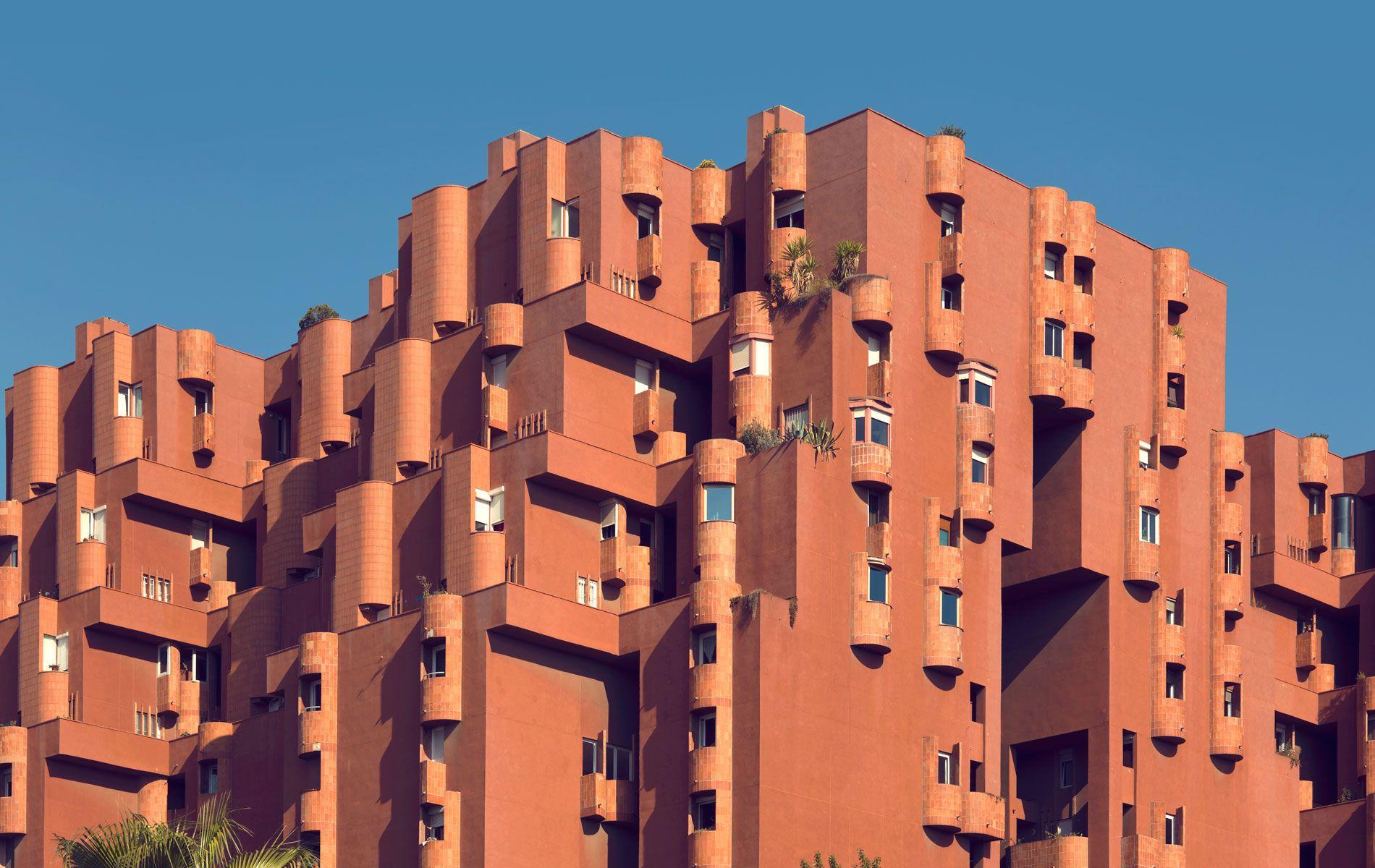 walden 7 1975 sant just desvern barcelona spain ricardo bofill taller de arquitectura. Black Bedroom Furniture Sets. Home Design Ideas