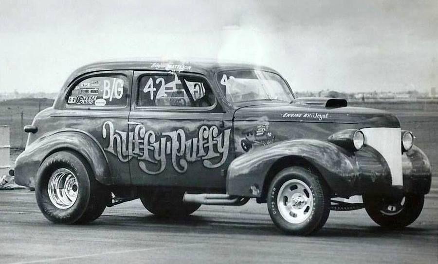 Gassers George Klass Remembers Drag Racing Custom Cars Car Lettering
