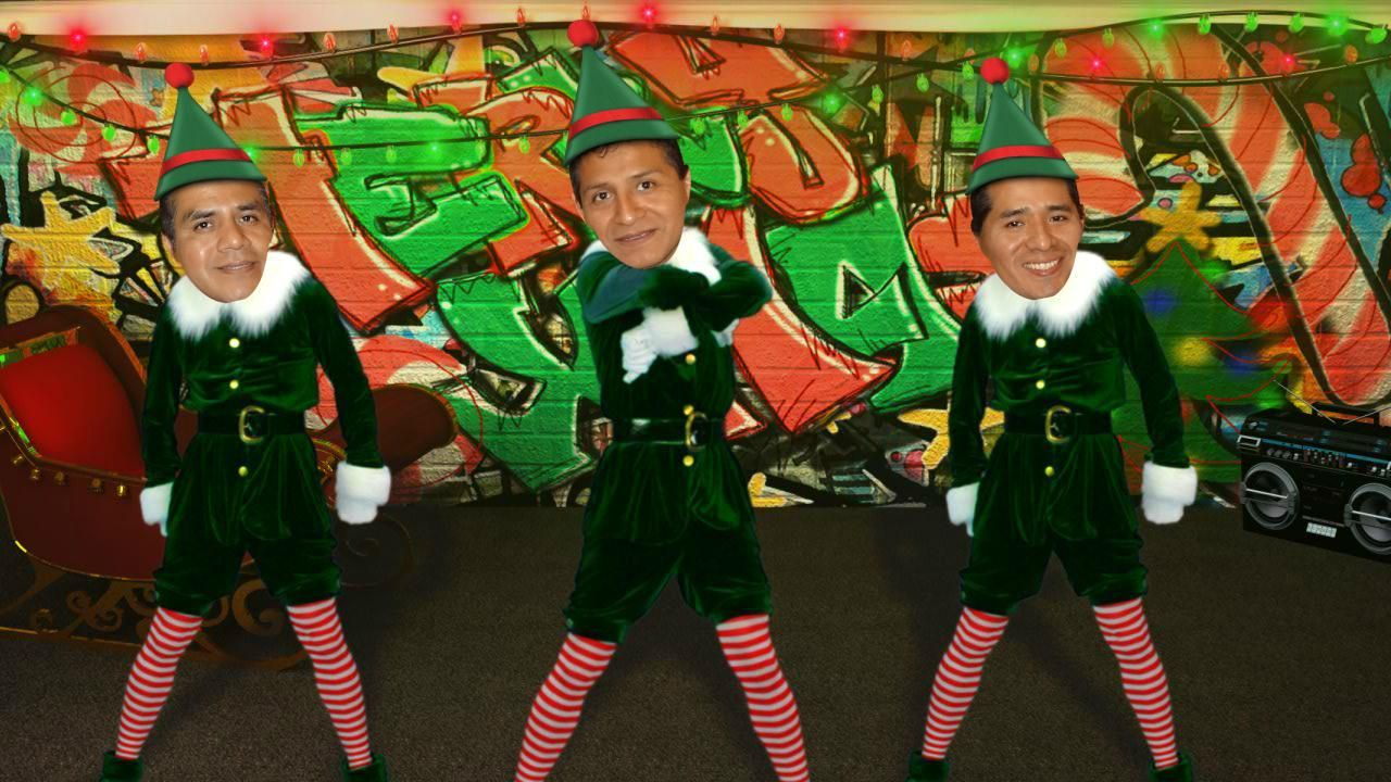 Feliz Navidad Jojojo Elf Dance Elf Yourself Christmas Dance