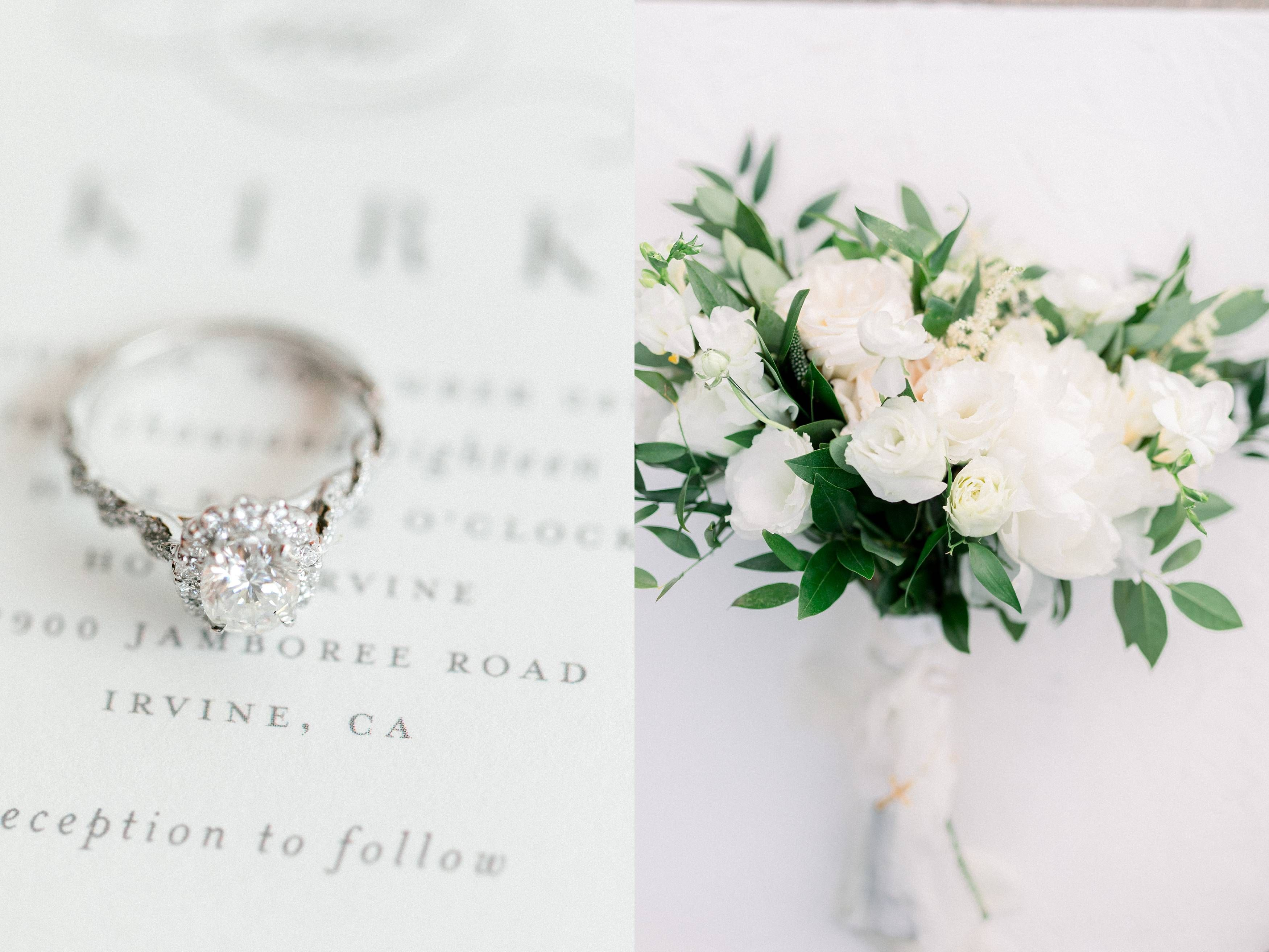 Hotel Irvine Wedding Breana And Kirk Wedding White Wedding