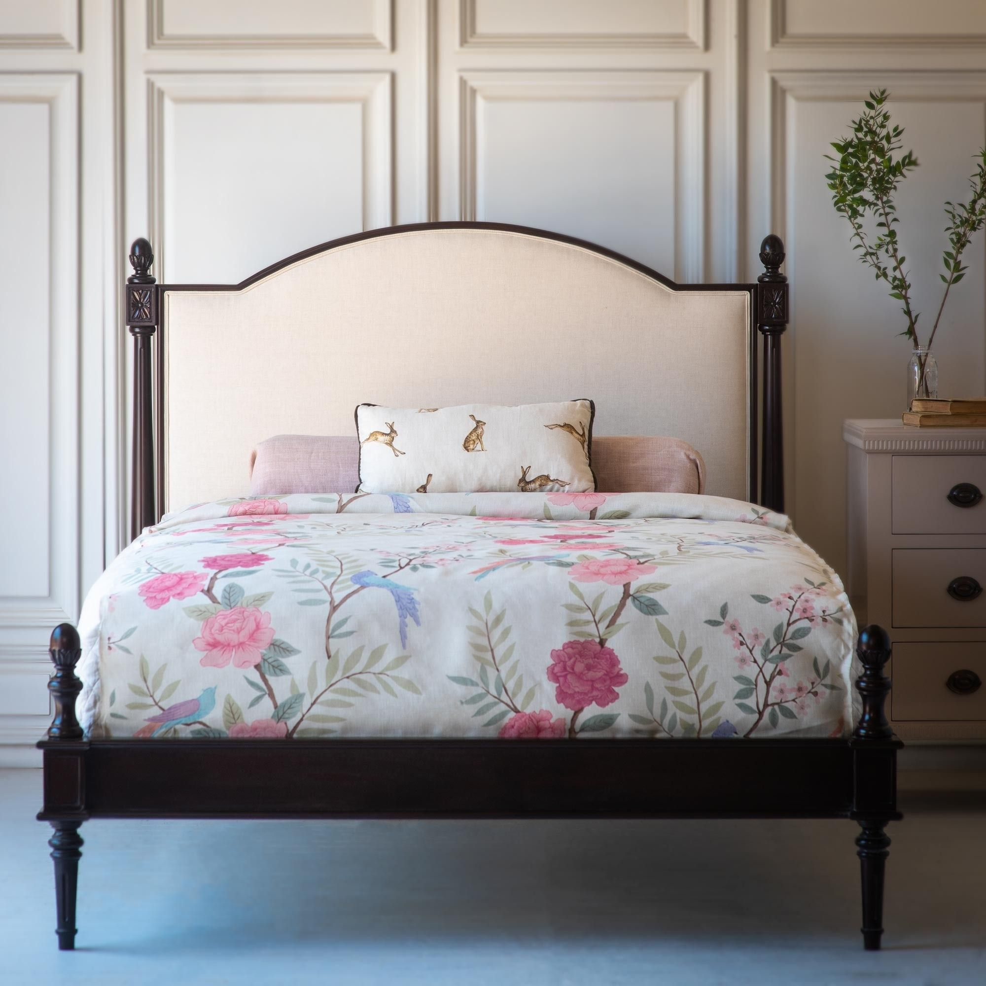 The Freya Upholstered Bed By The Beautiful Bed Company Is French