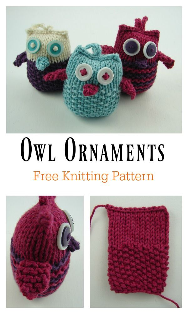 Photo of Adorable Puff Owl Free Knitting Pattern  #adorable #knitting #pattern