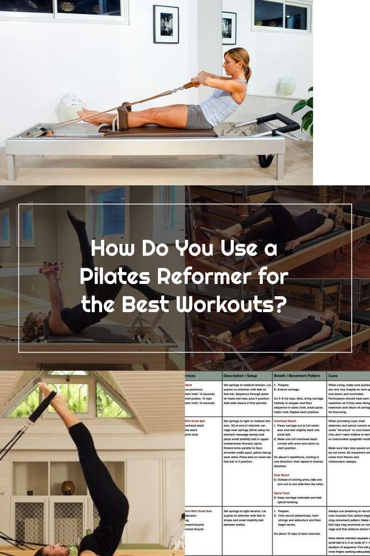 Pin On Pilates Reformer Exercise