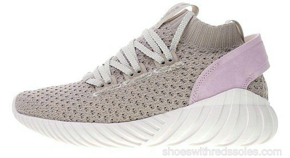 watch a80fe 3535e adidas Tubular Doom Sock Primeknit CG5510 pink Brown ...