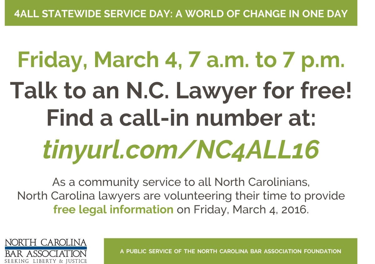 March 4 Talk To A Lawyer Frees