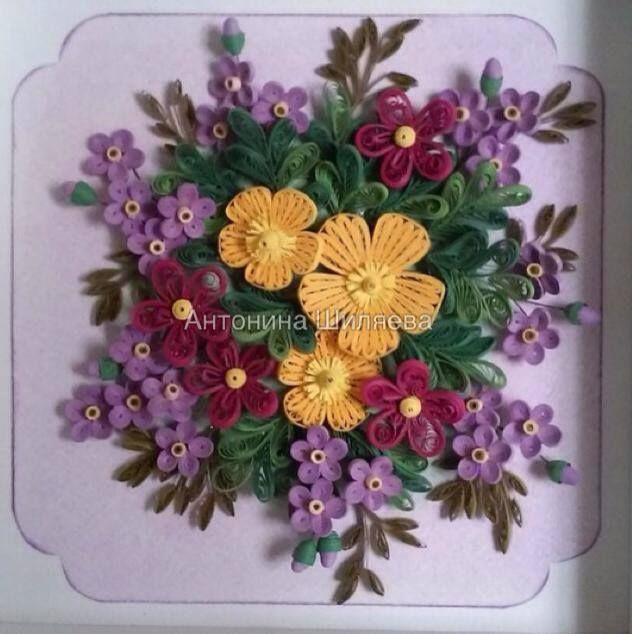 Pin de maria eugenia en quilled   Pinterest   Filigrana y Flores