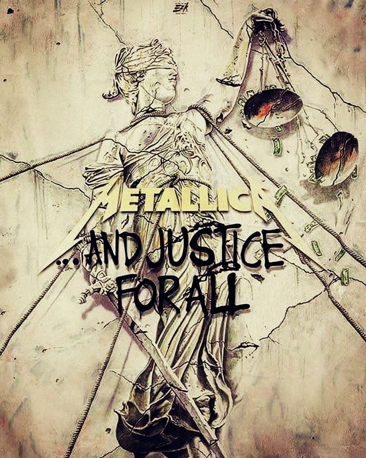 Metallica And Justice For All... Metallica art