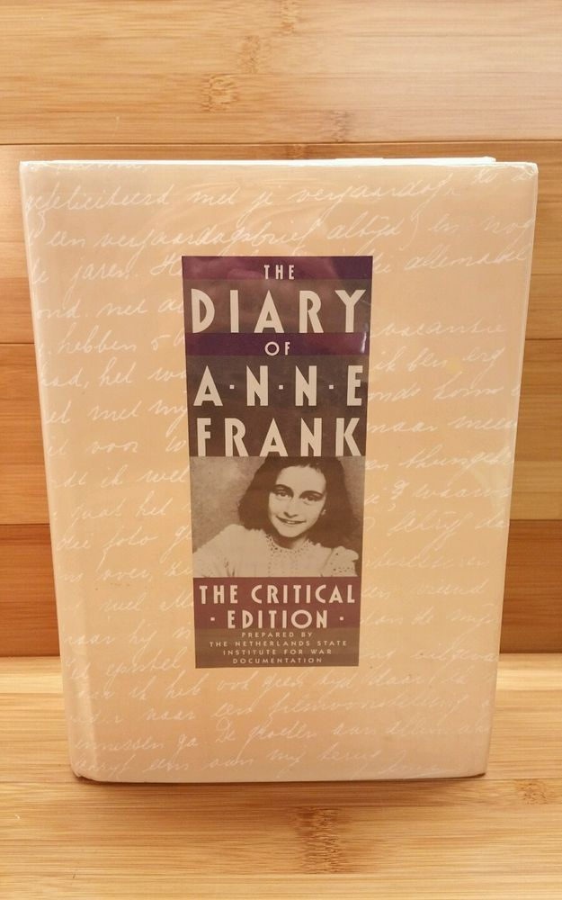 The Diary Of Anne Frank The Critical Edition By Anne Frank Anne Frank Anne Book Worms